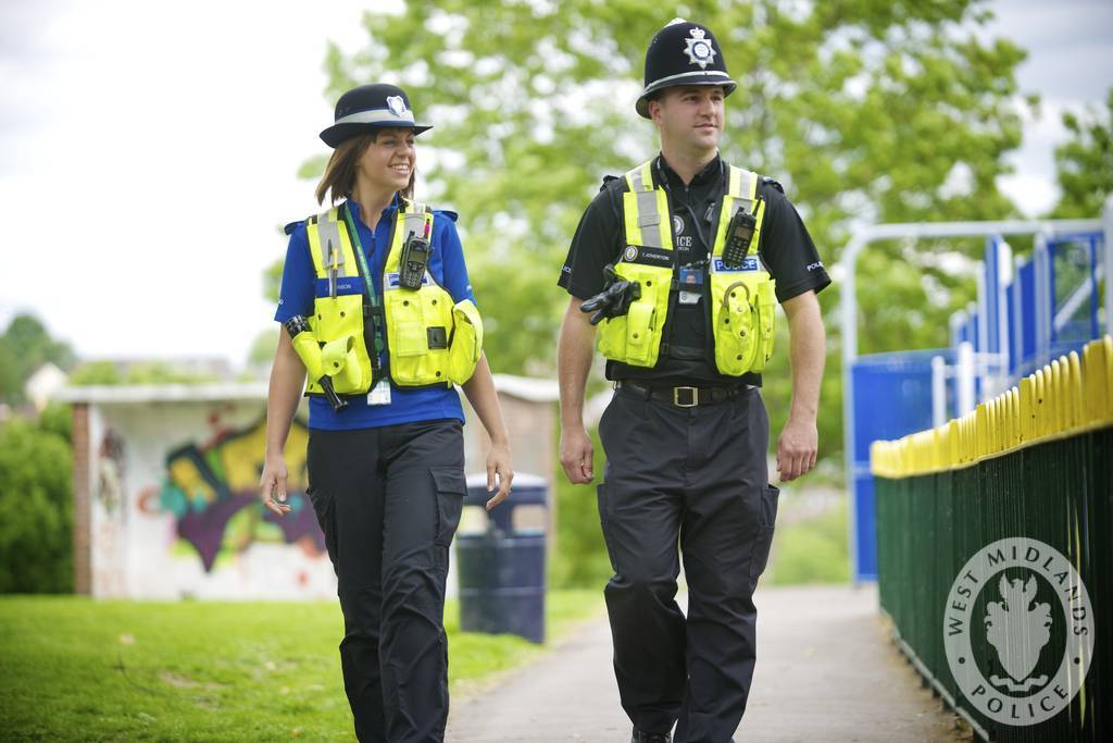 Community officers on patrol