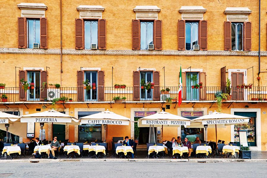 Italy Rome Food