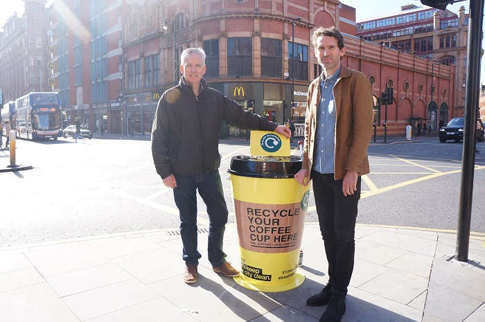 Gavin Ellis, founder (right) with Mike Beere from Groundwork Charity