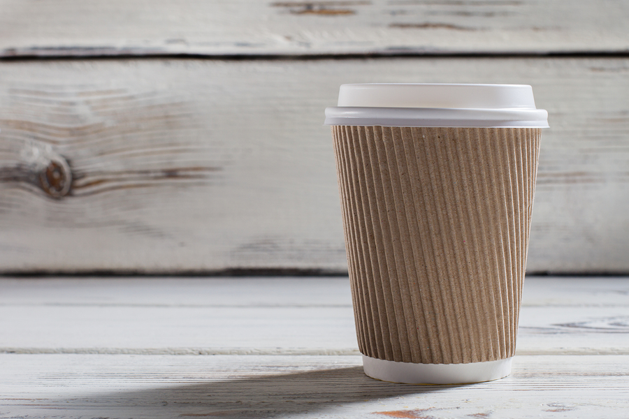 Coffee cup to be recycled?