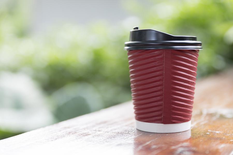 Coffee cup is sad