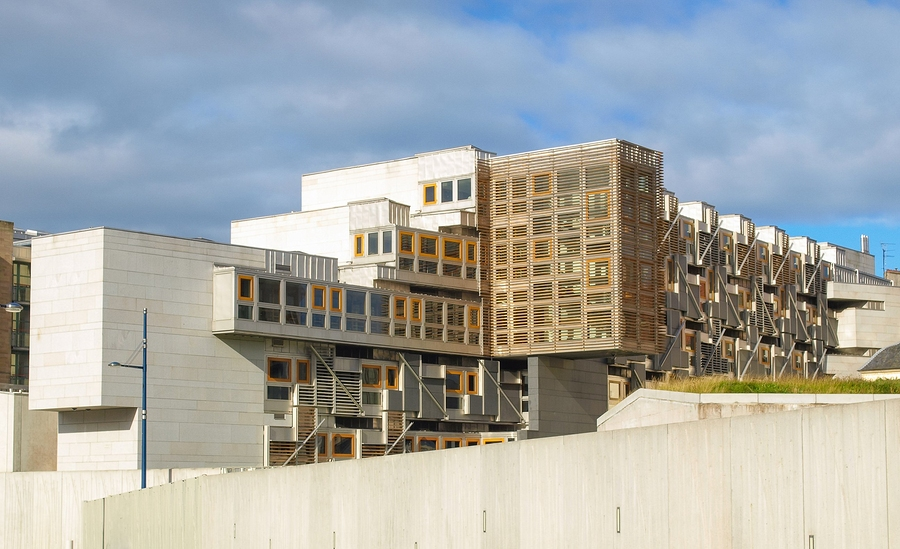 The Scottish Parliament, Edinburgh
