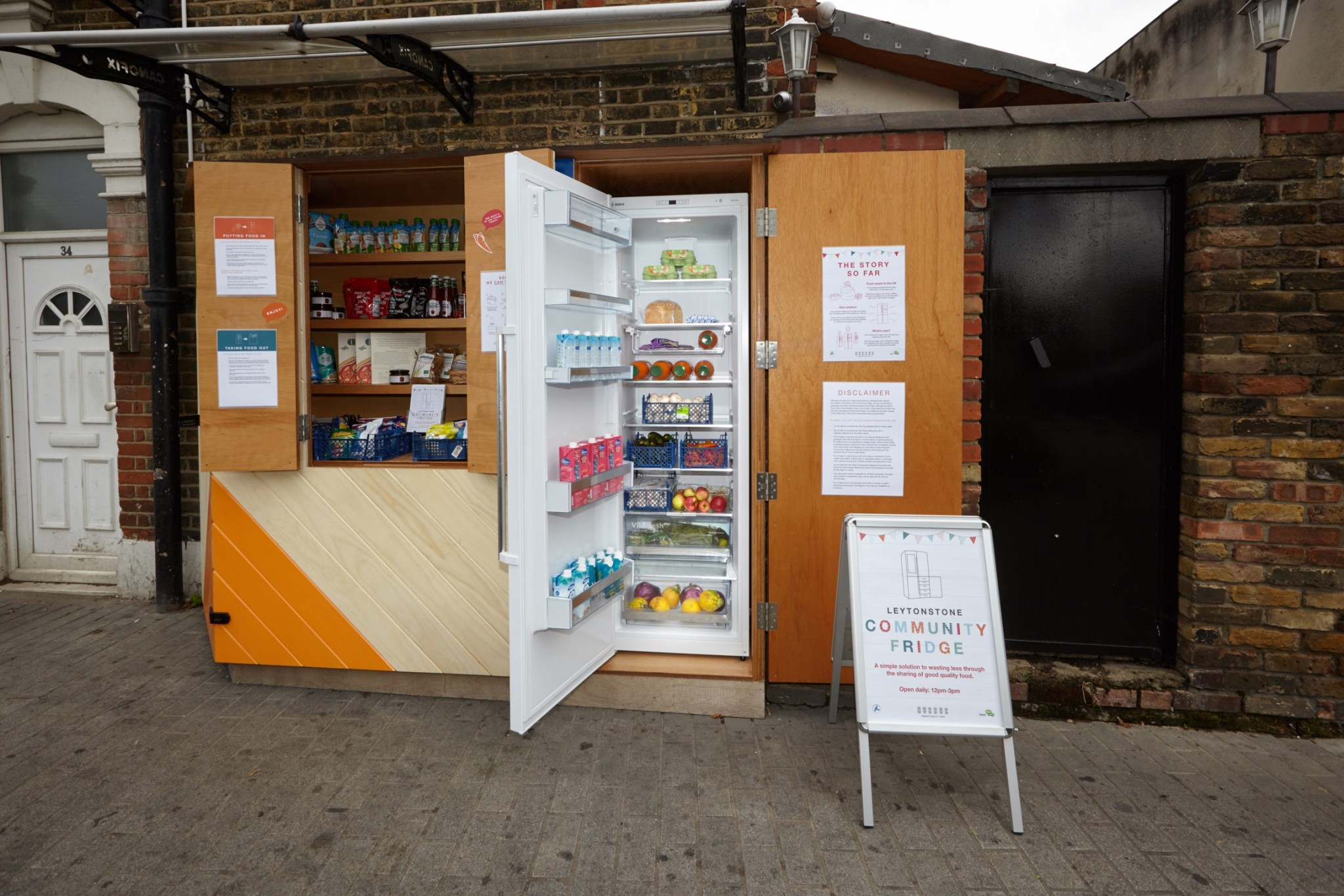 Leytonstone Community Fridge 1