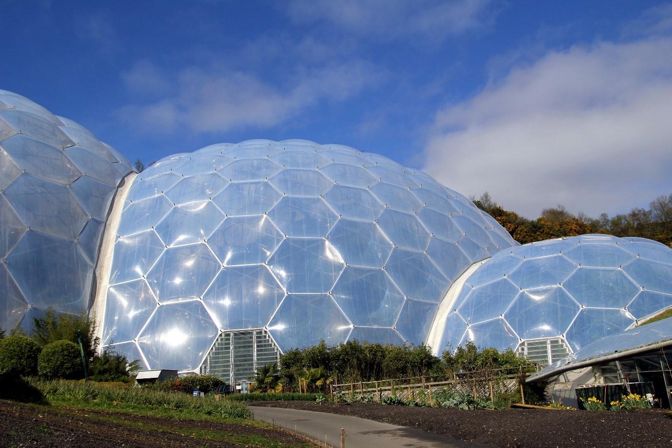 Eden Project indoor rainforest